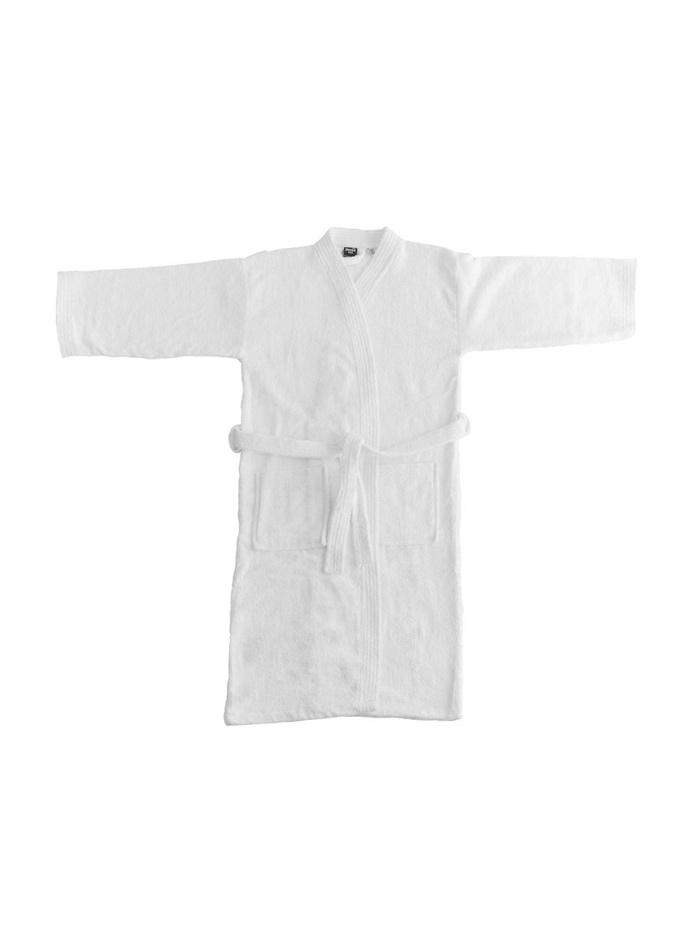 Koupací plášť Kimono - Bílá XS/S