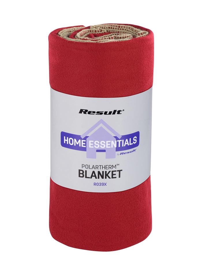Fleecová deka - Červená univerzal