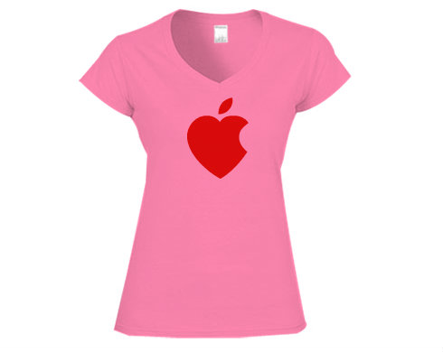 Levně iSrdce Dámské tričko V-výstřih