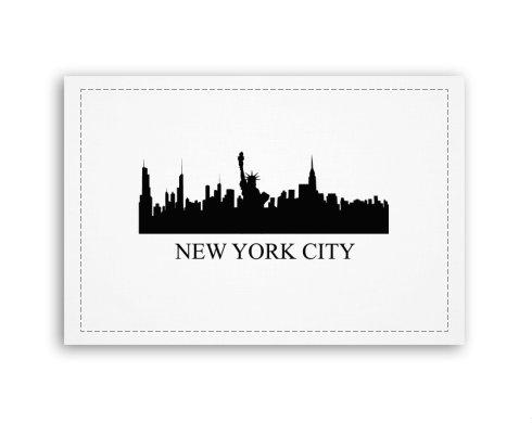 Levně New York Fotoplátno 90x60 cm střední