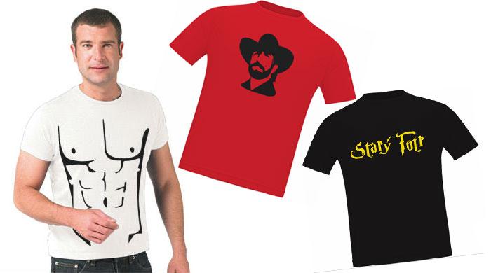 Dárky pro tátu - tipy na dárky - Vytvoř si vlastní tričko a dárky ... 9885838e46