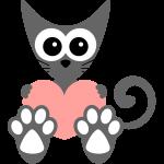 Mačka a srdce