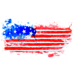 USA water flag