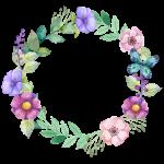 Květinový rámeček