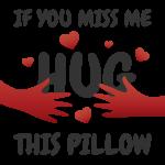 Hug this pillow