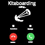 Kiteboarding calling