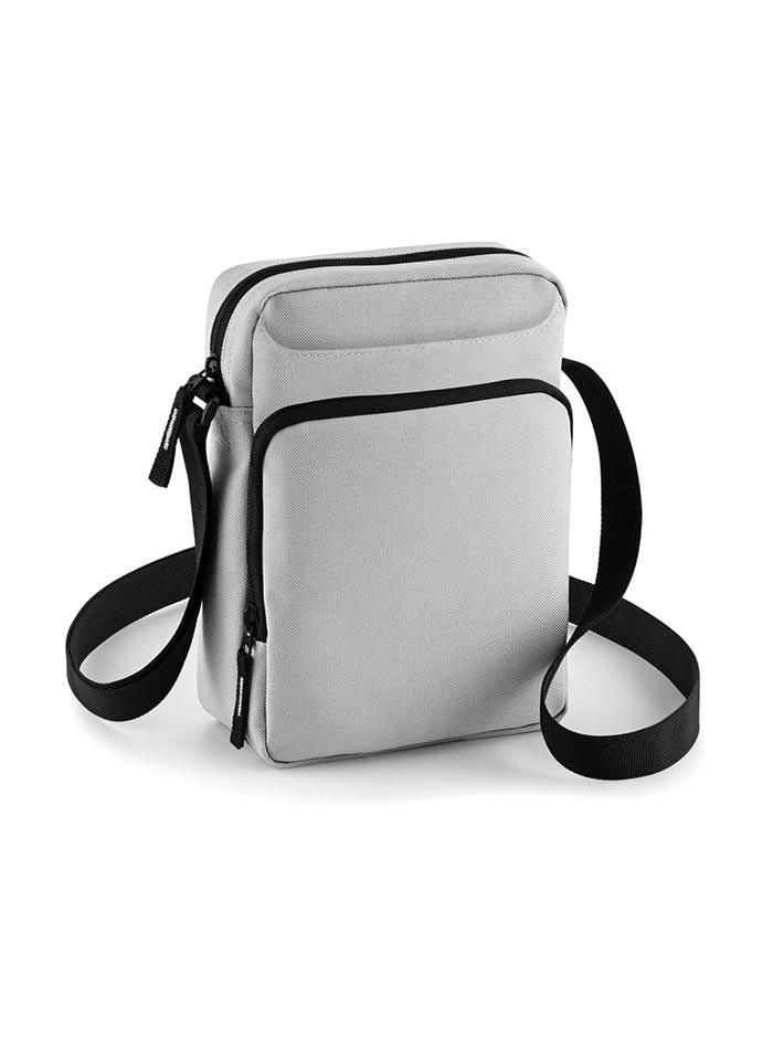 Crossbody taška Bagbase - Ledově šedá univerzal