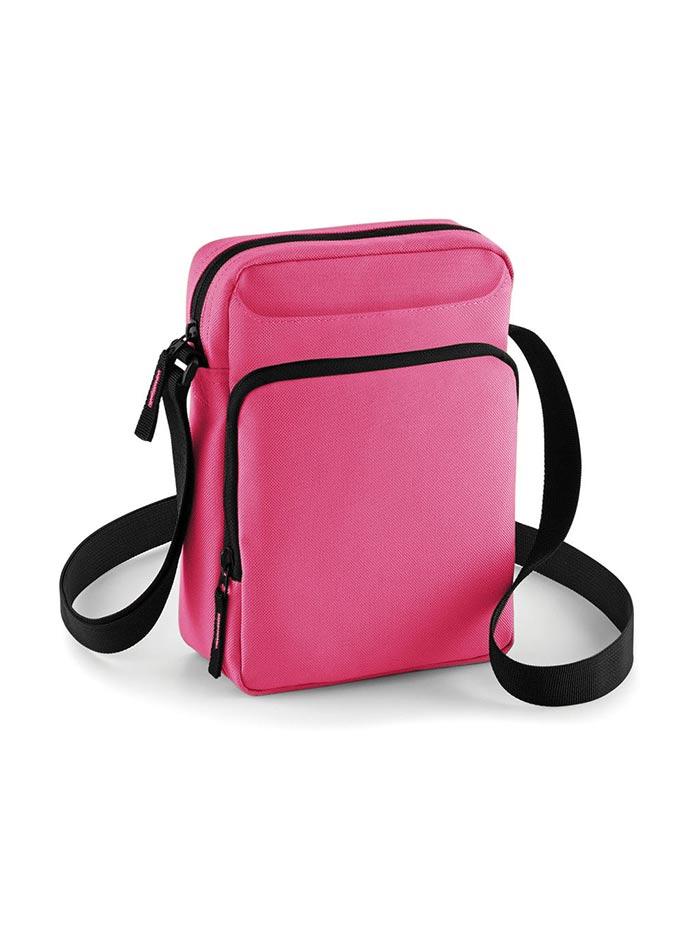 Crossbody taška Bagbase - Růžová univerzal