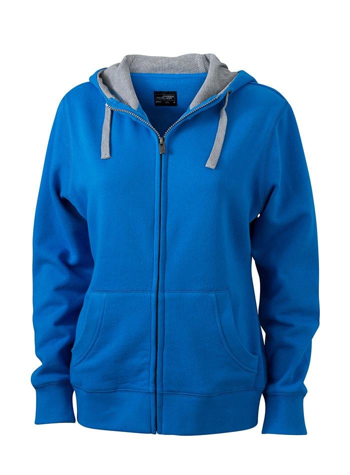 Dámská mikina Lifestyle - Kobaltově modrá S