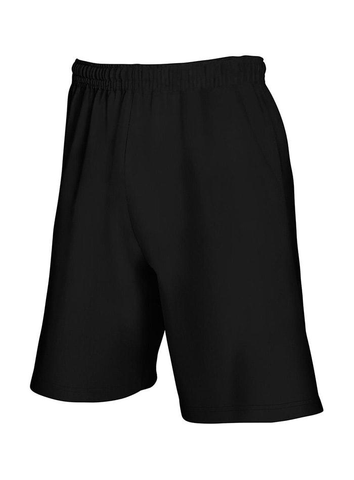 Lehké pánské šortky - černá XXL