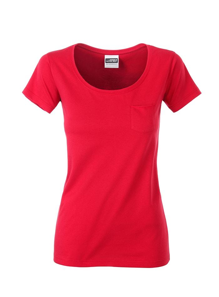 Dámské tričko JN - Červená S