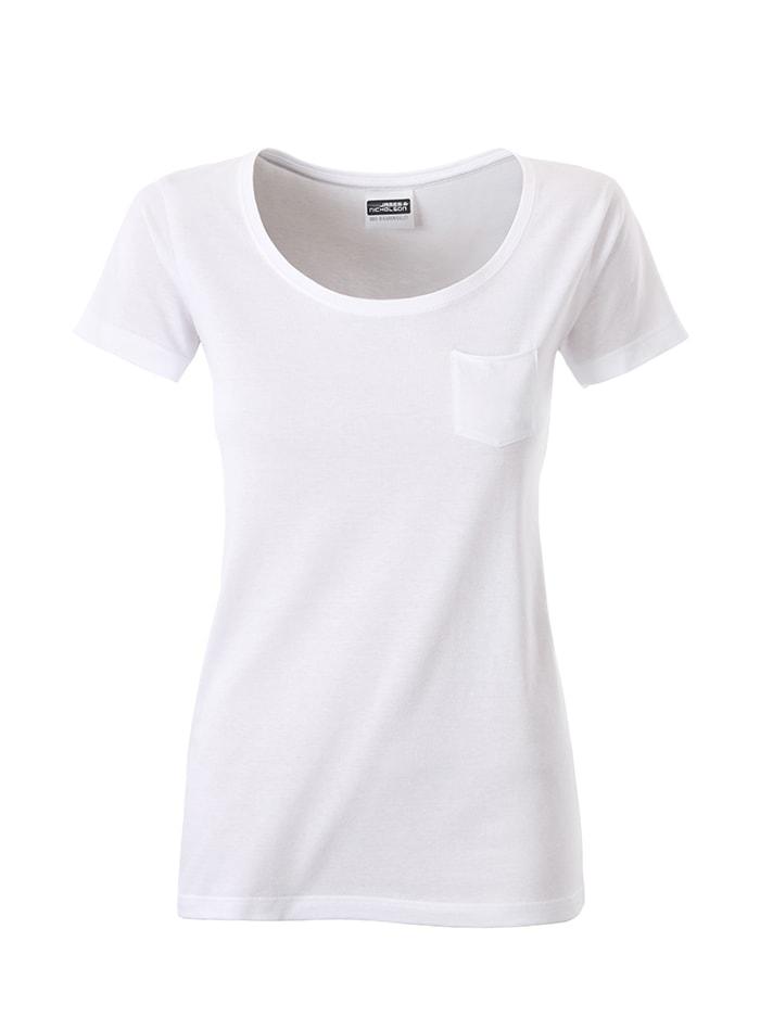 Dámské tričko JN - Bílá S