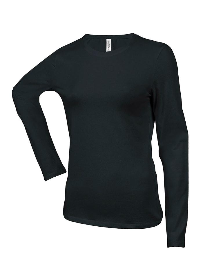 Dámské tričko Carla - Černá S