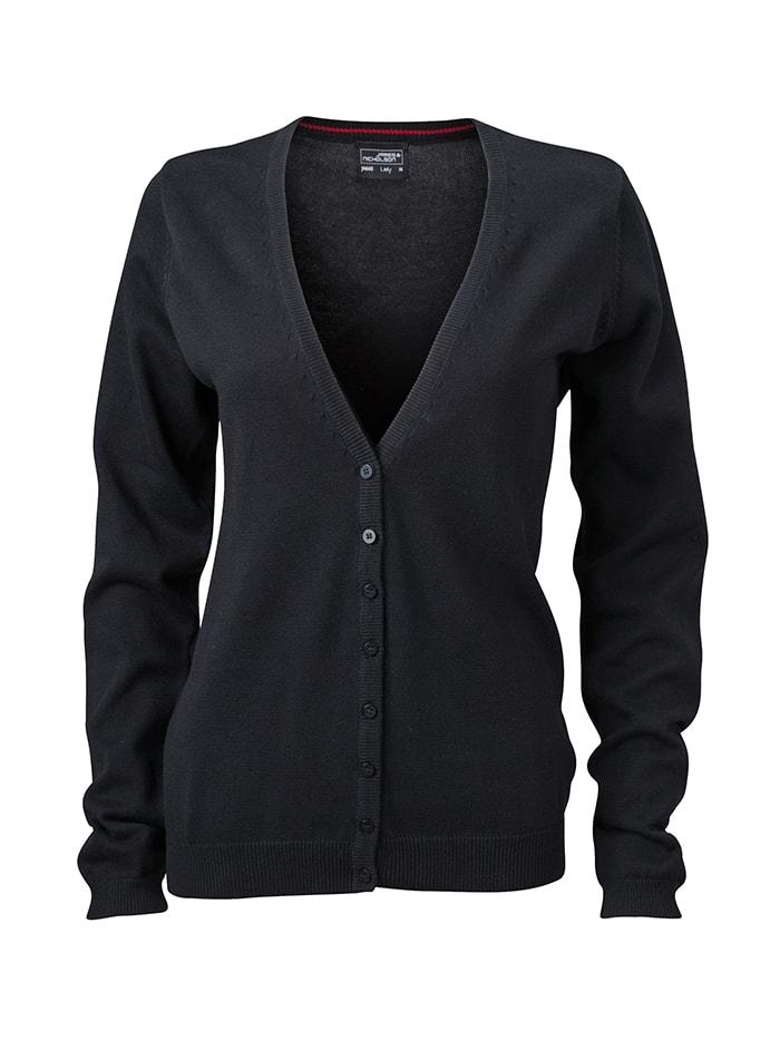 Dámský svetr Cardigan - Černá M