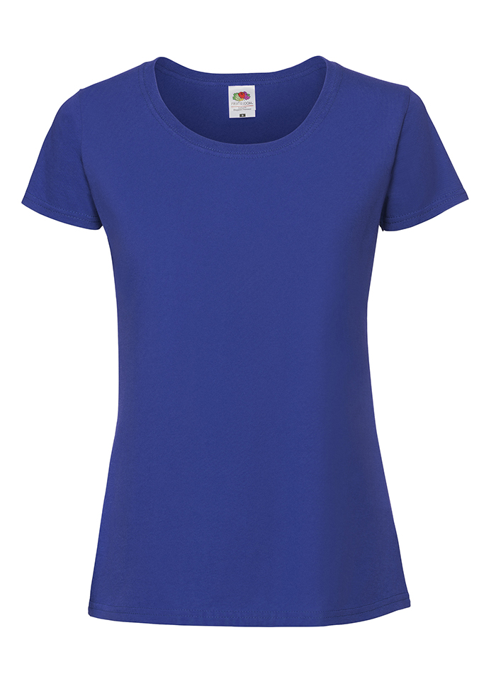 Dámské tričko Premium - Královská modrá XXL