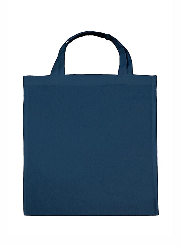 Nákupní bavlněná taška - Indigově modrá univerzal