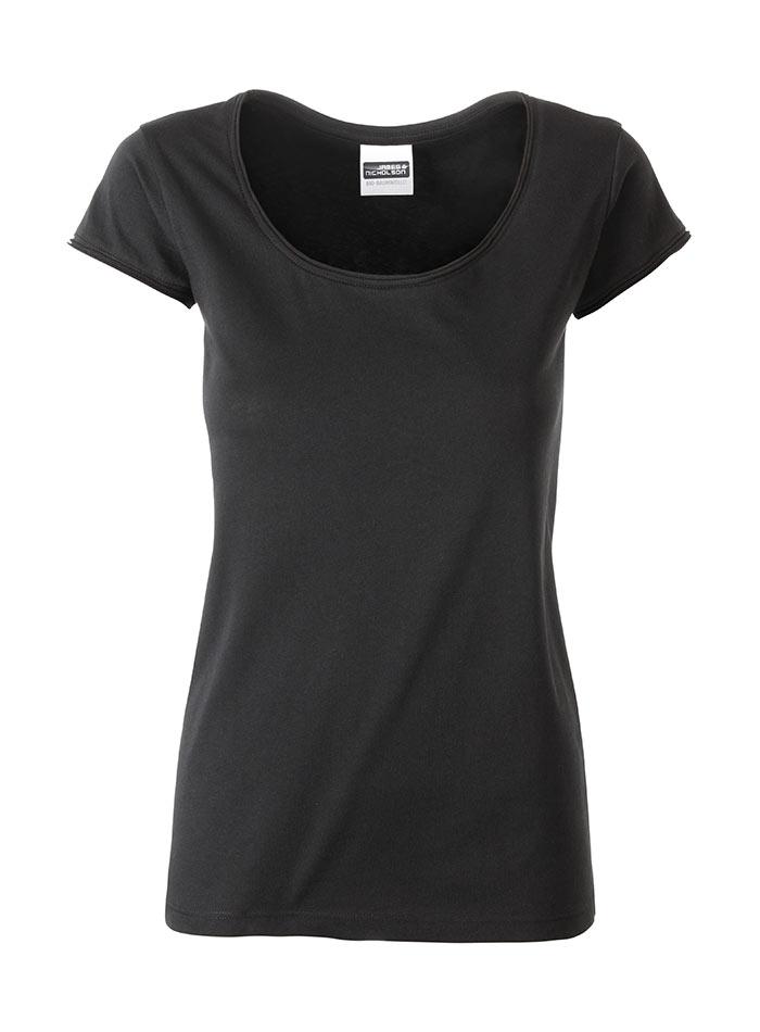 Dámské tričko Organic - černá M