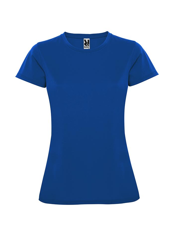 Dámské tričko s UV ochranou - Královská modrá XXL