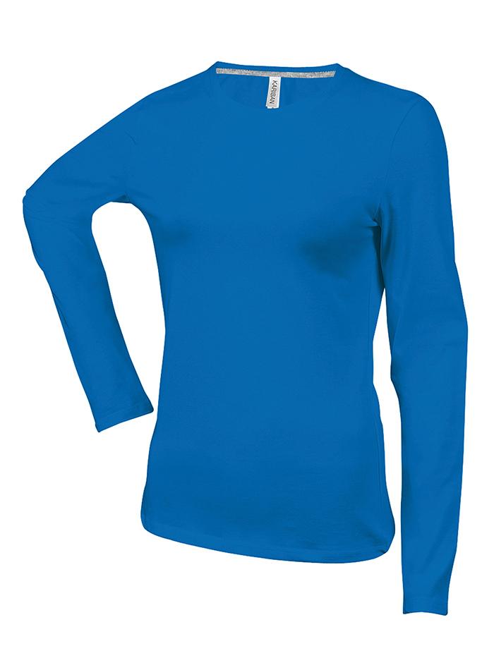 Dámské tričko Kariban Long - Královská modrá XXL