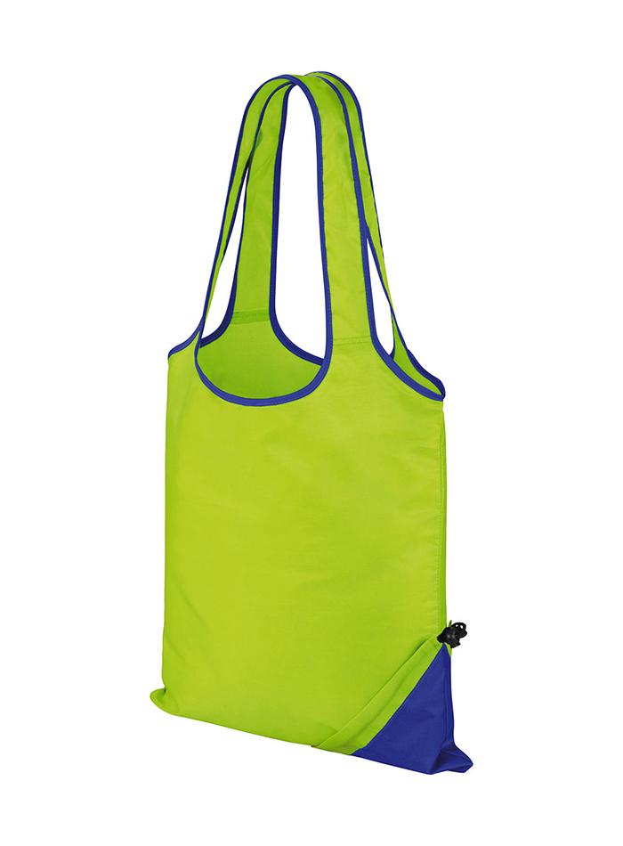 Skládací taška Compact - Zelená a modrá univerzal