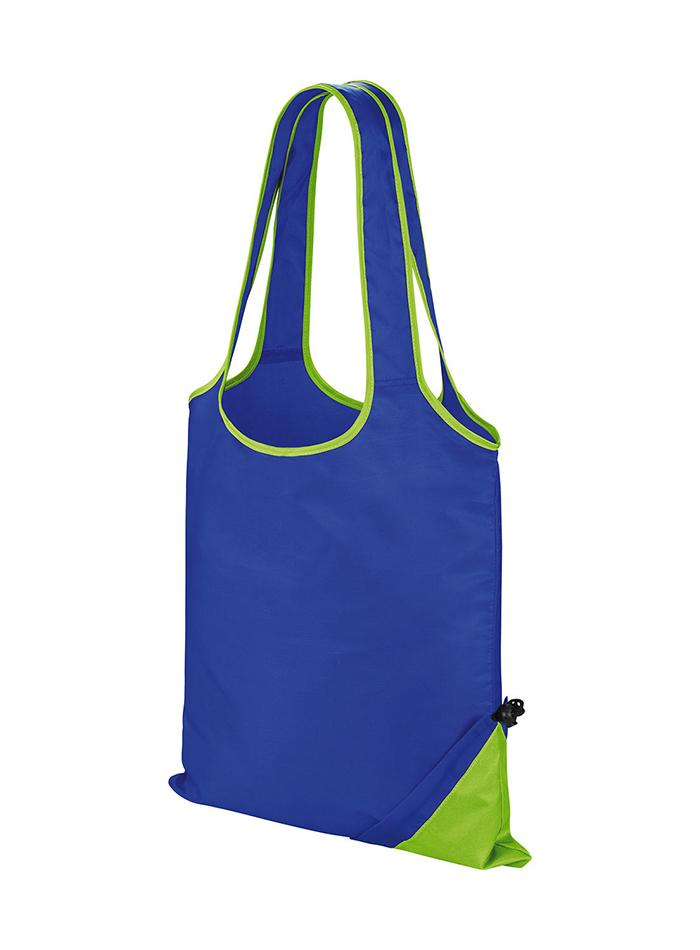 Skládací taška Compact - Modrá a zelená univerzal