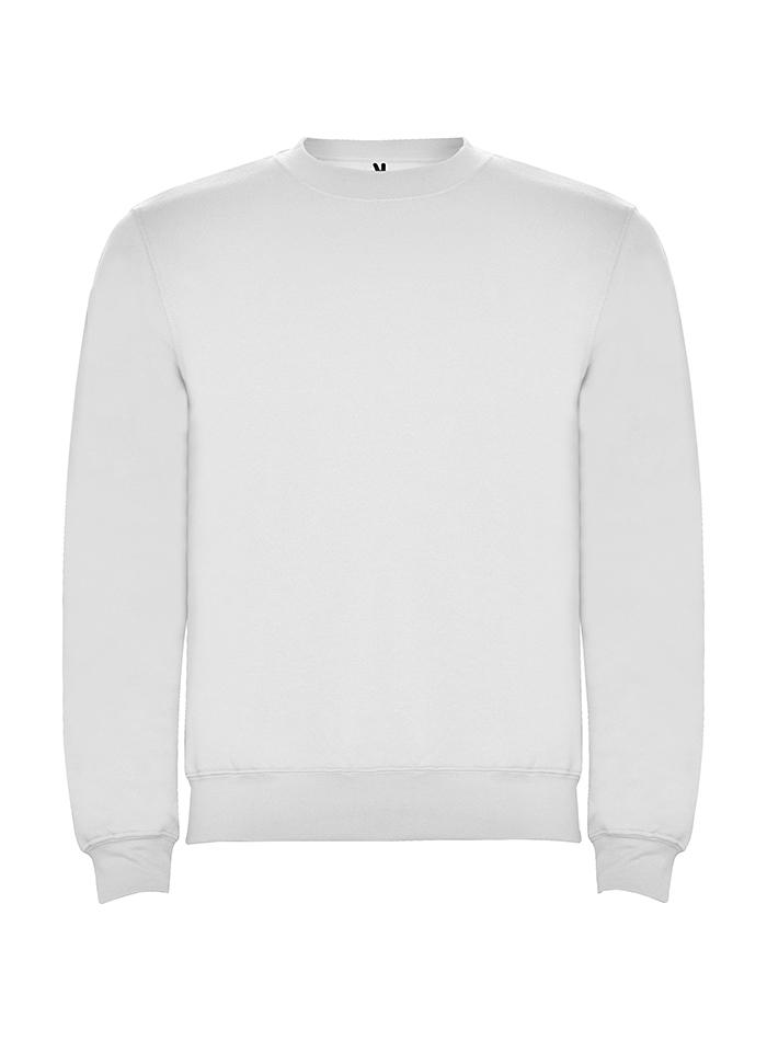 Pánská mikina Clasica - Bílá 3XL b536d45b12