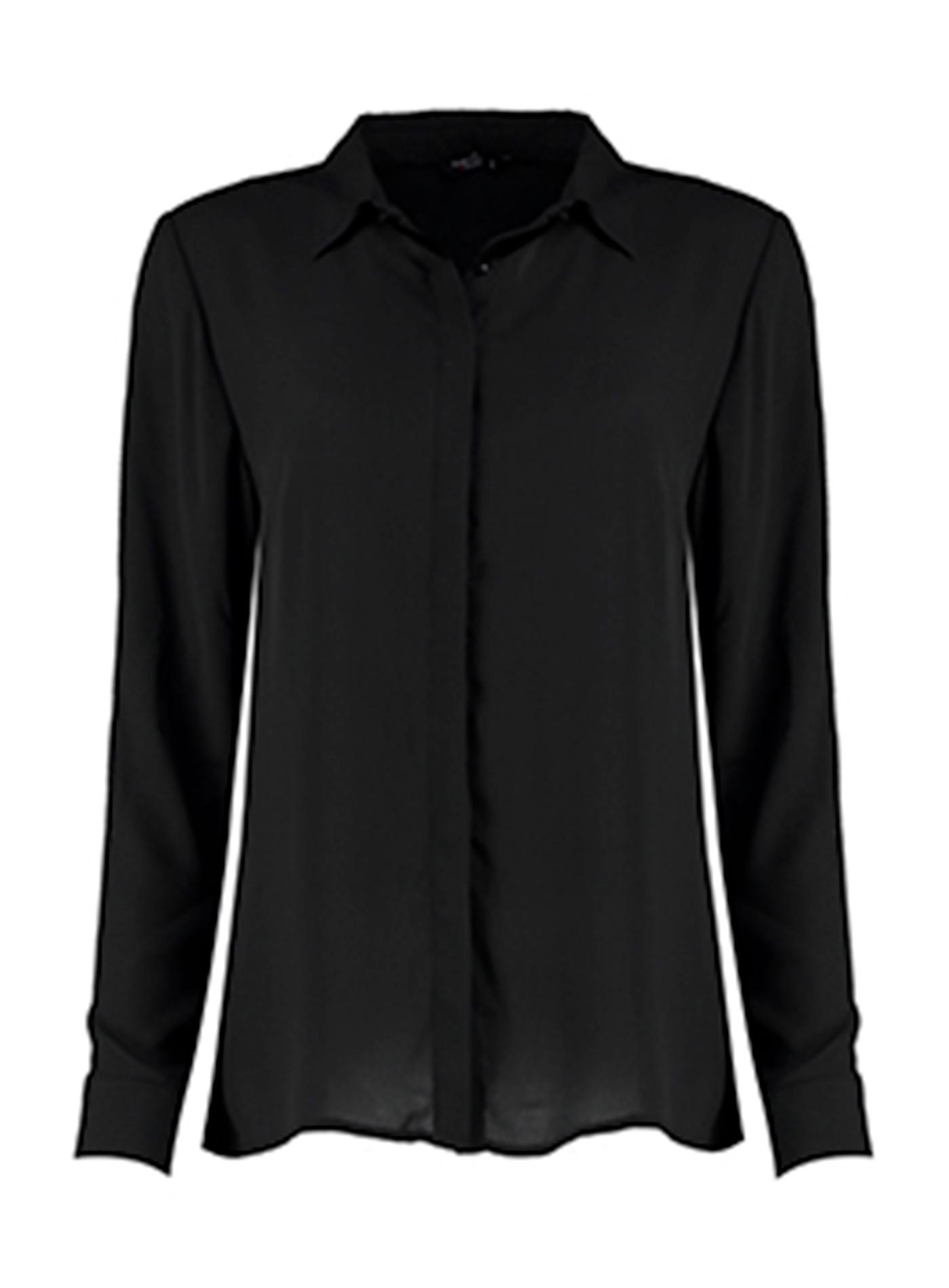 Košile Soft Regular Fit - černá XS