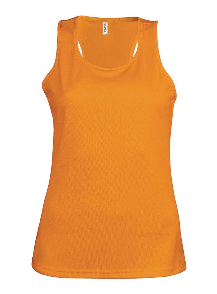 Dámské tílko Active - Oranžová M