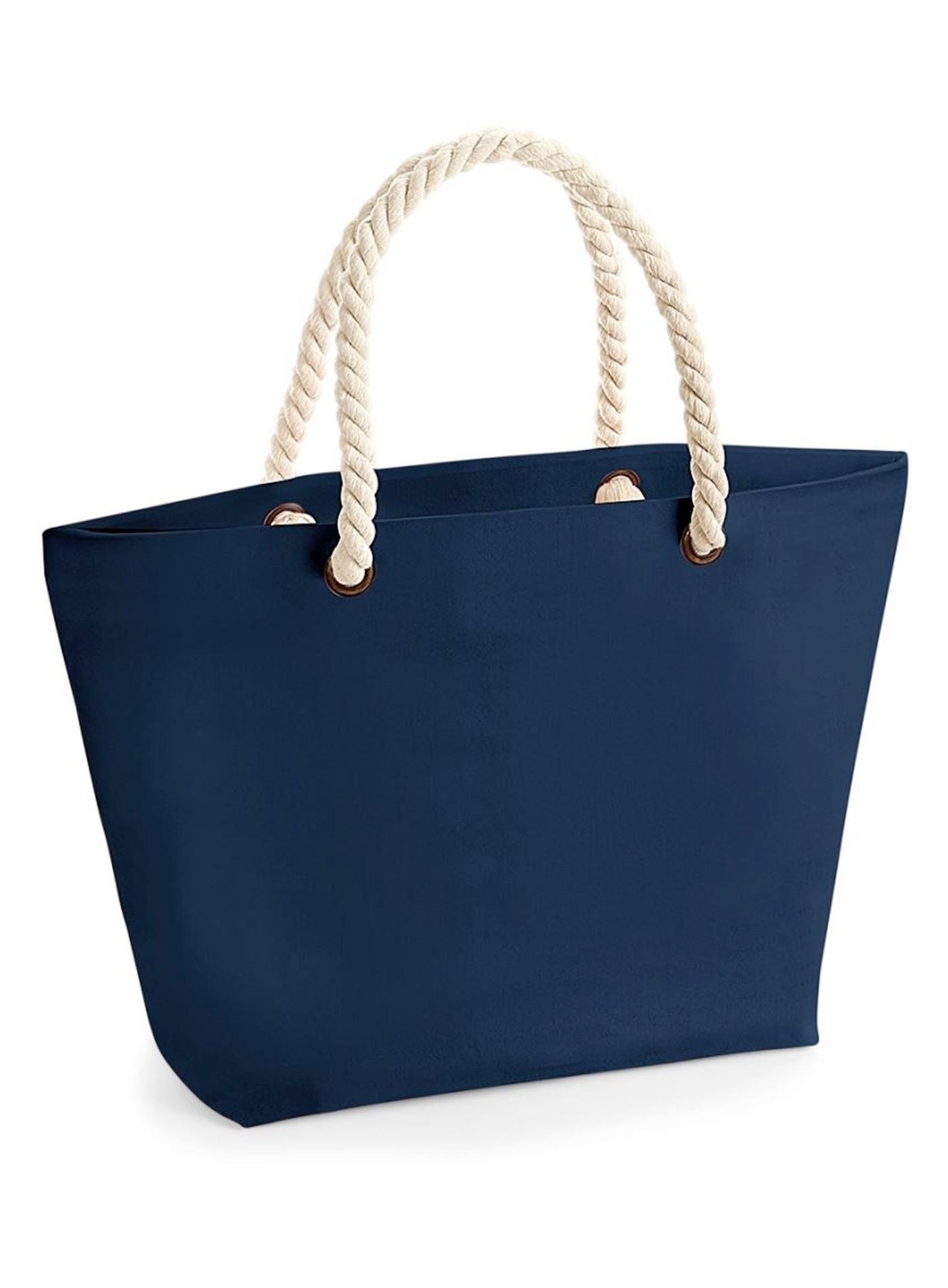 Plážová taška - Námořnická modrá univerzal