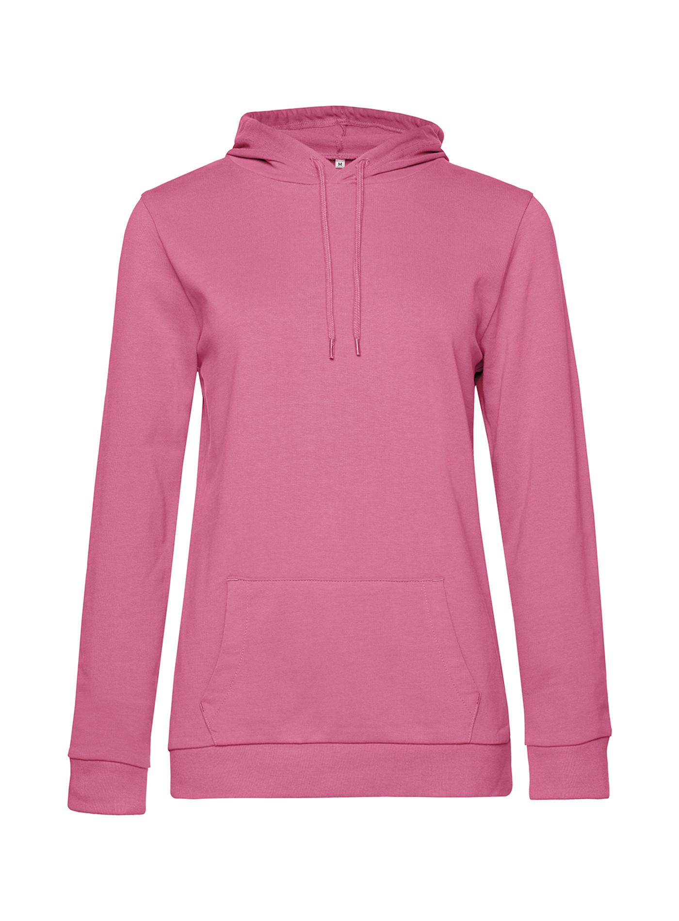 Dámská mikina Terry - Růžová M
