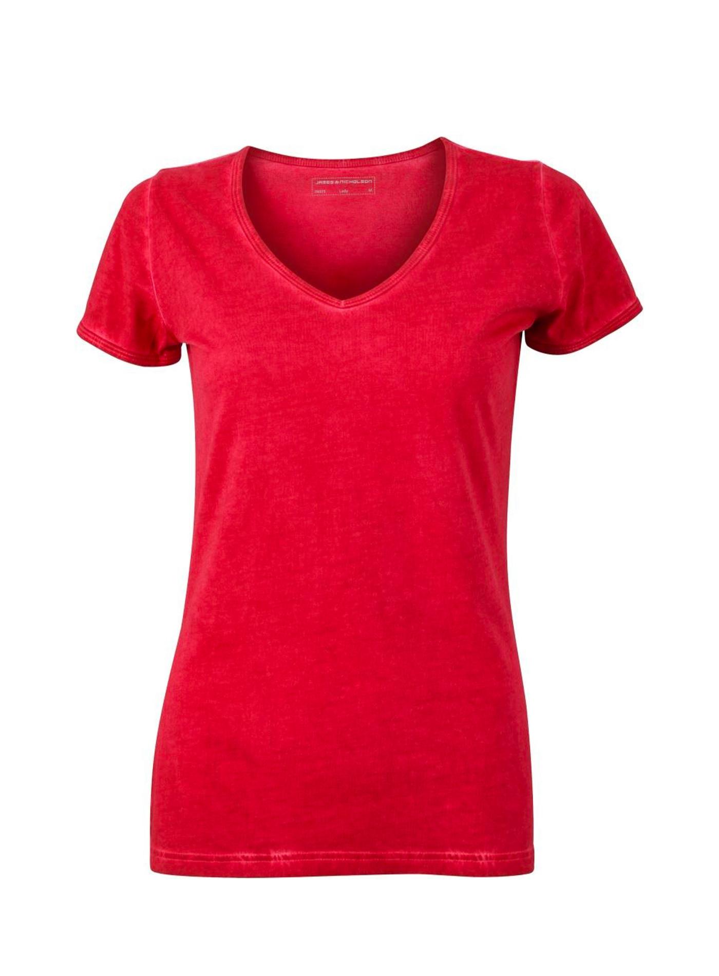 Tričko Gipsy - Tmavě červená S