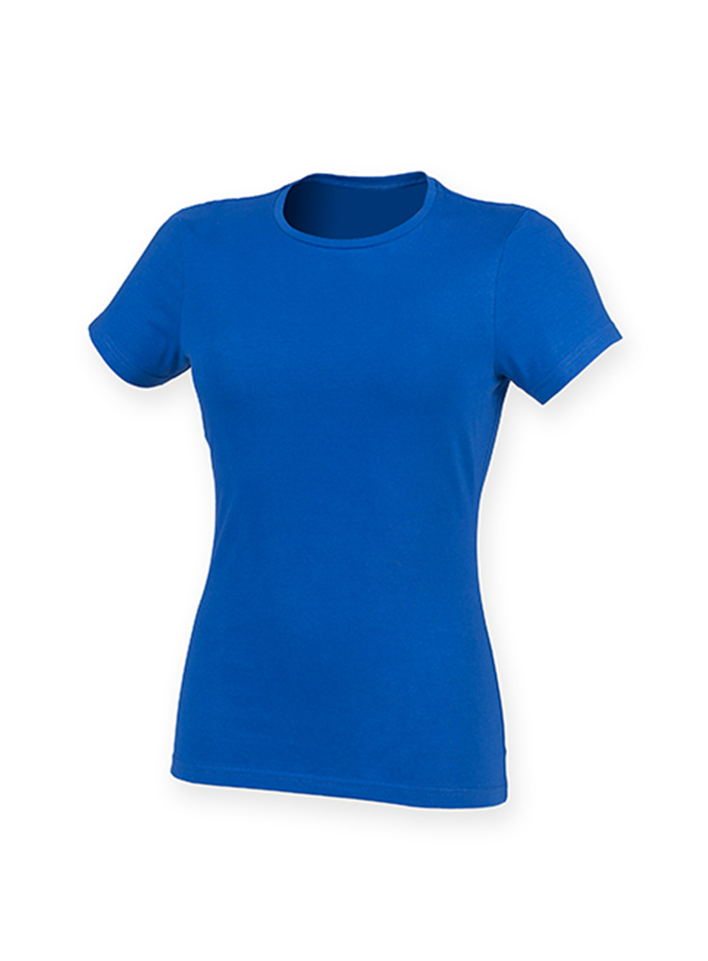 Dámské strečové tričko Feels Good - Královská modrá XXL