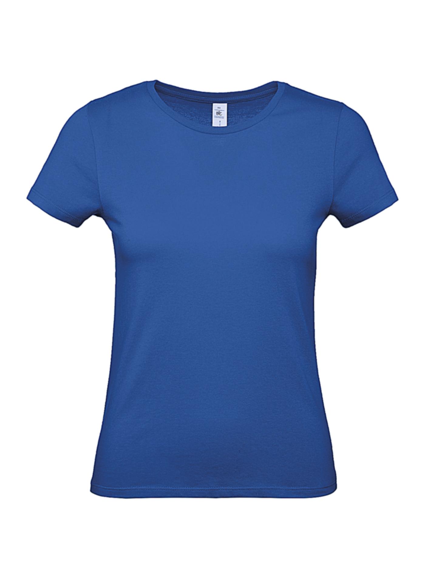 Dámské tričko B&C - královská modrá XXL
