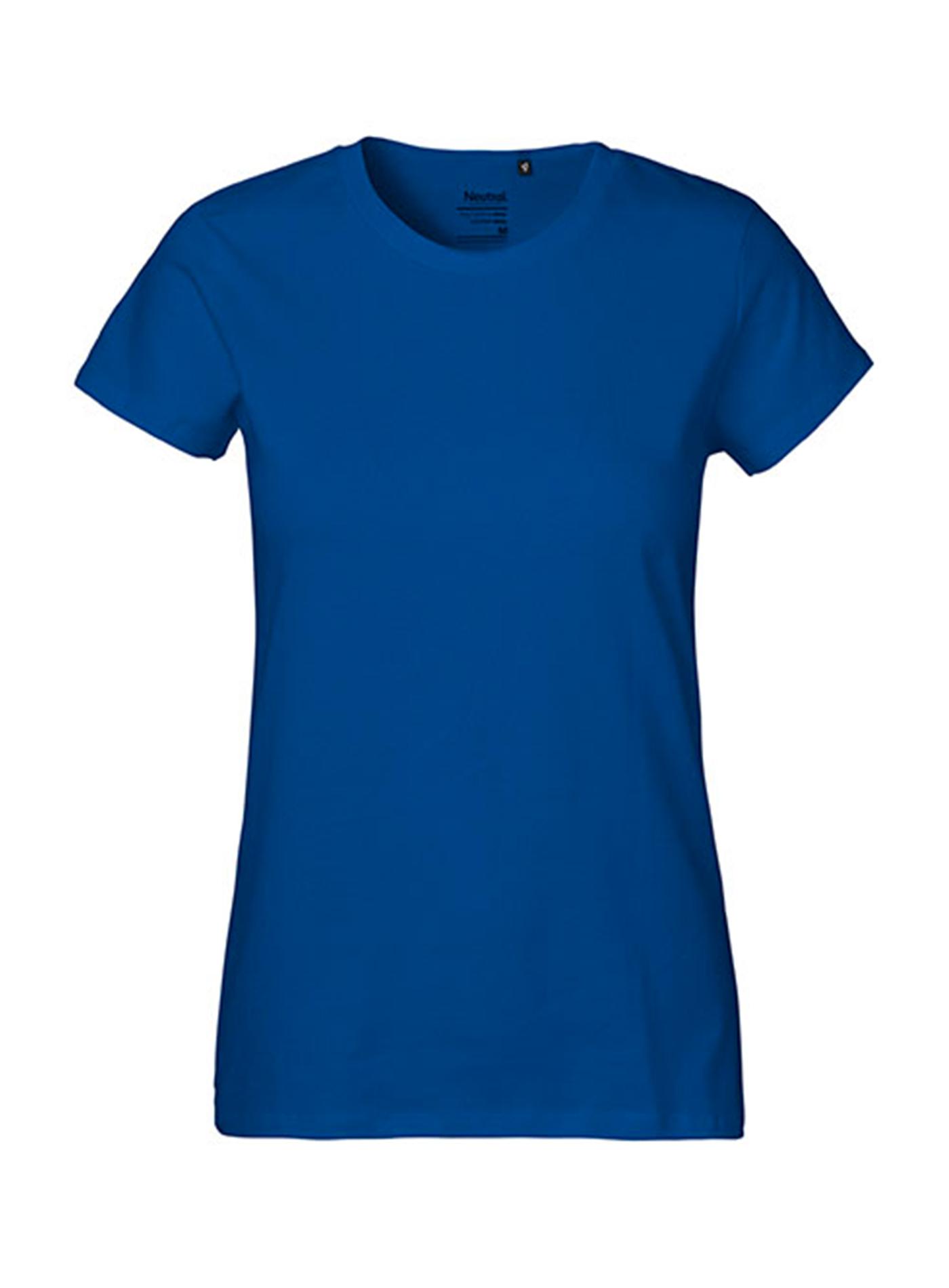 Dámské tričko Classic Neutral - Královská modrá XXL