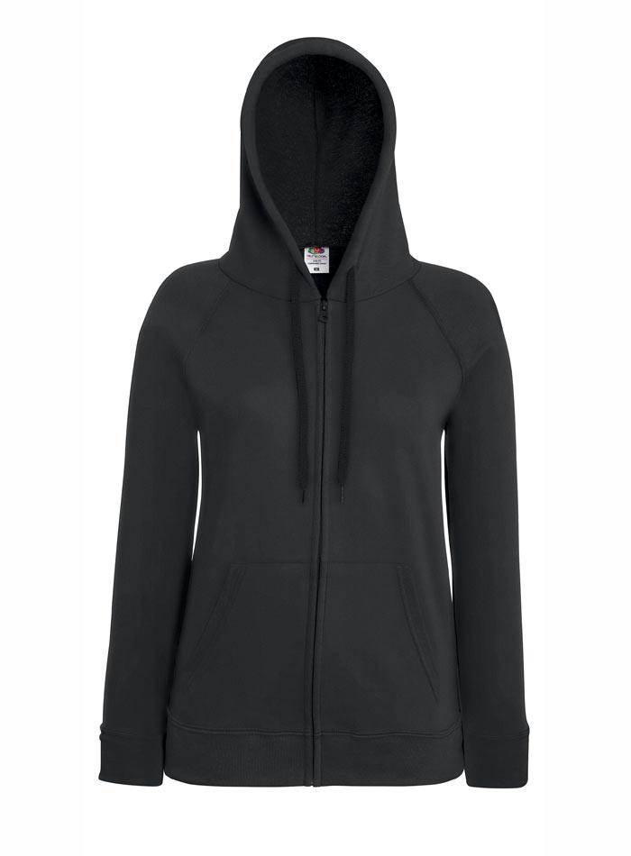 Mikina s kapucí na zip - Šedá S