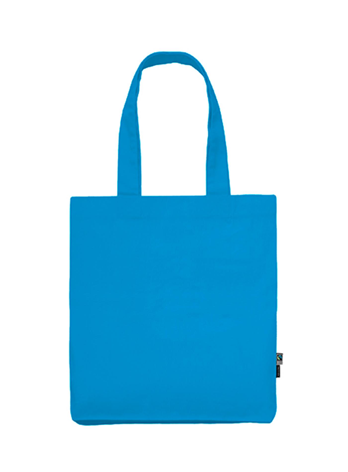 Plátěná taška Neutral - Safírově modrá univerzal