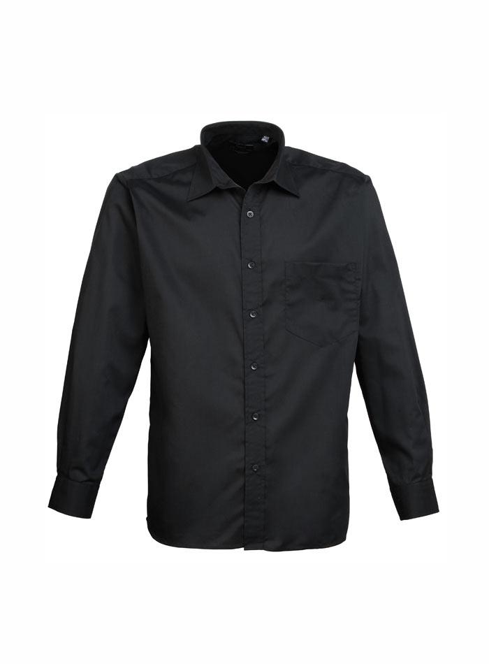 Pánská košile Premier - černá 38