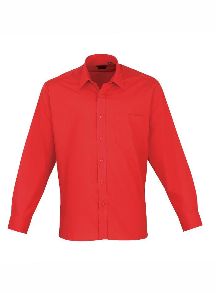 Pánská košile Premier - Červená 38
