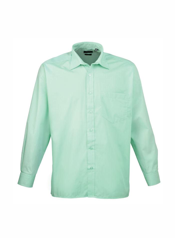 Pánská košile Premier - Zelenomodrá 38
