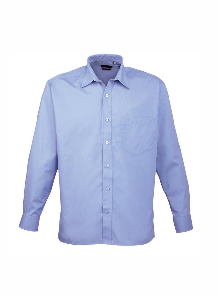 Pánská košile Premier - Modrá 38