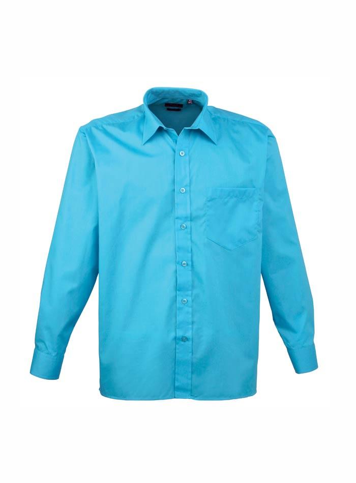 Pánská košile Premier - Tyrkysová 38