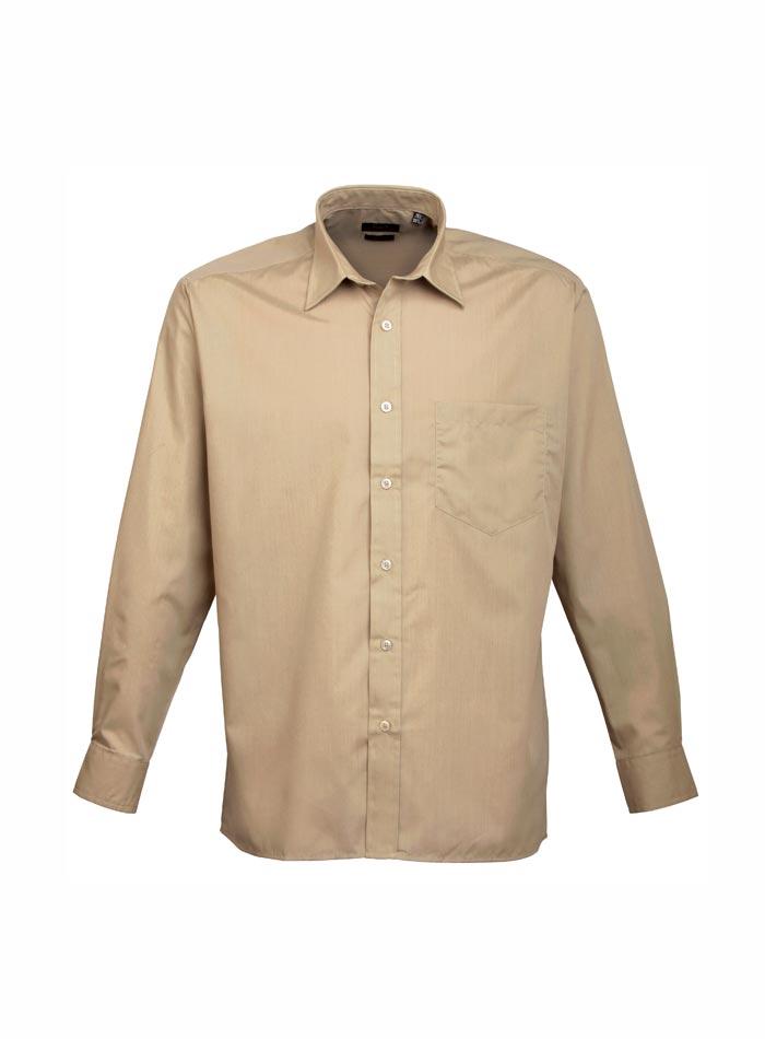 Pánská košile Premier - Béžová 38