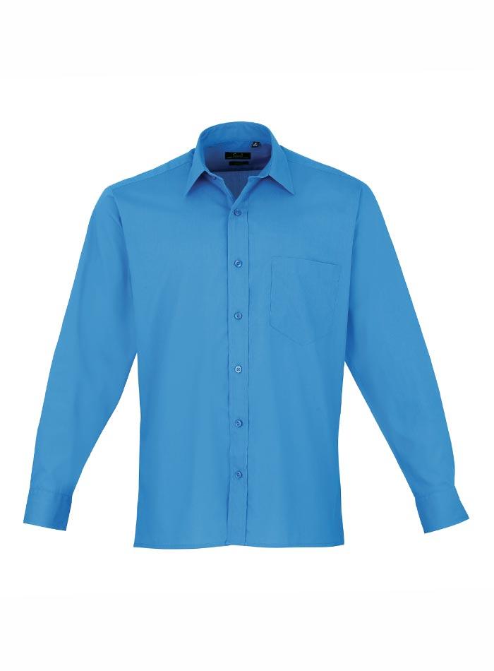 Pánská košile Premier - Safírově modrá 38