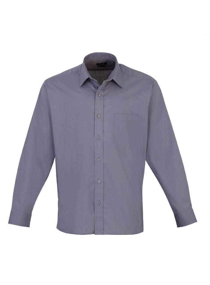 Pánská košile Premier - Šedá 38