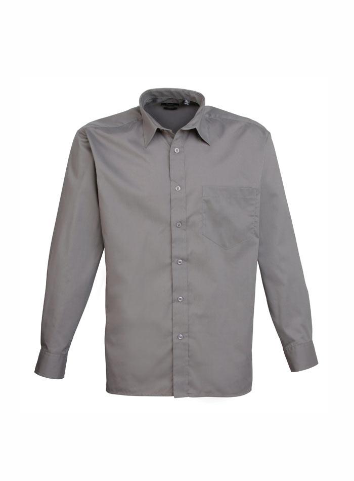 Pánská košile Premier - Tmavě šedá 38