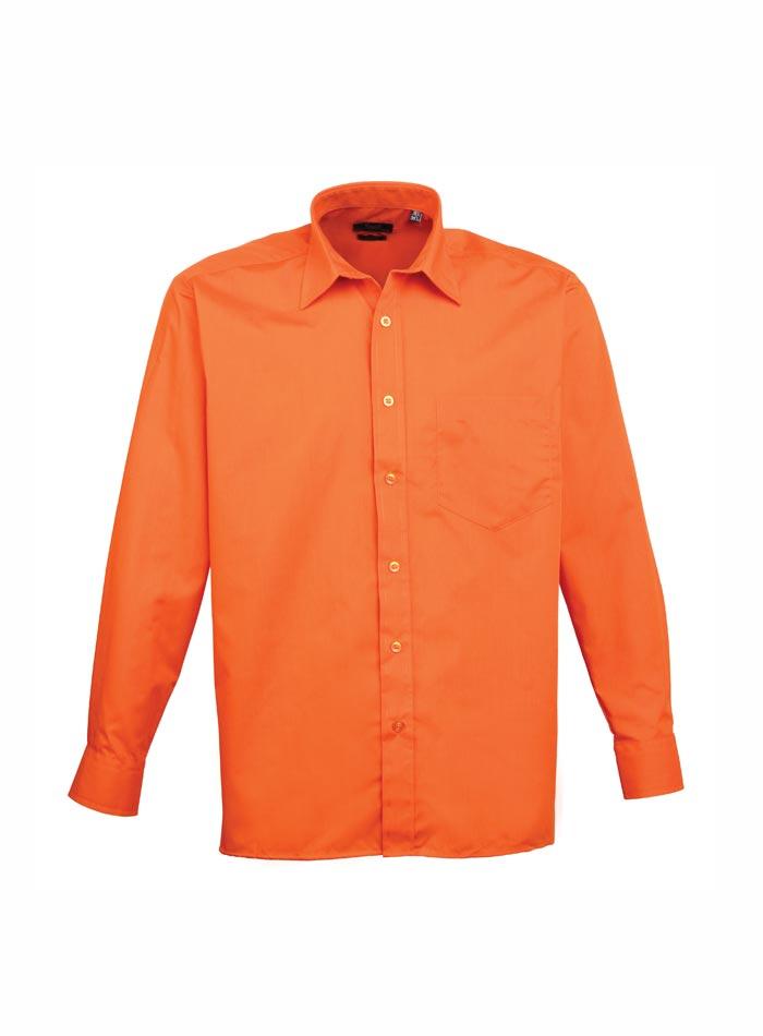 Pánská košile Premier - Oranžová 38