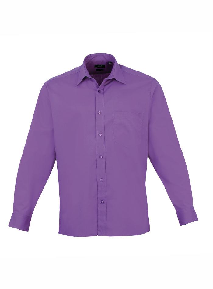 Pánská košile Premier - Světle fialová 38