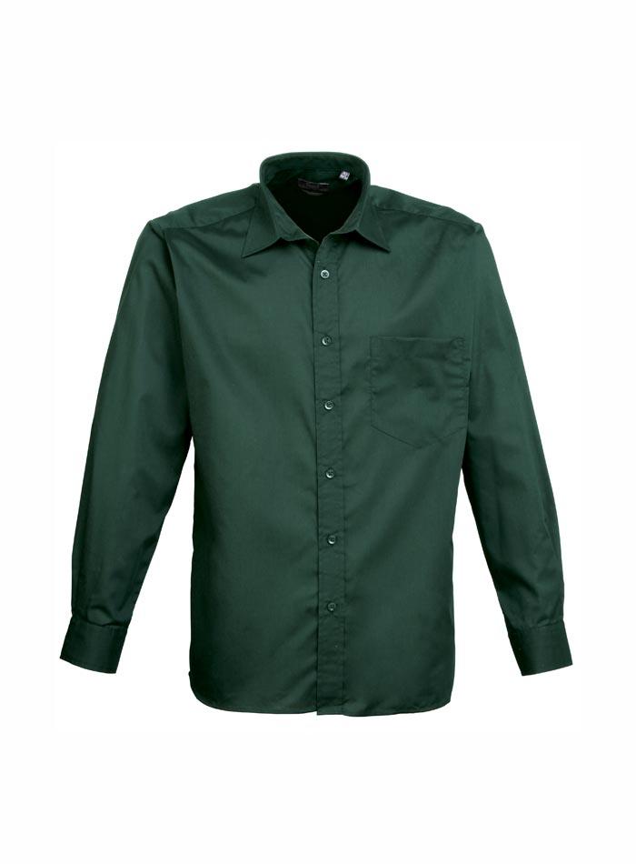 Pánská košile Premier - Lahvově zelená 38