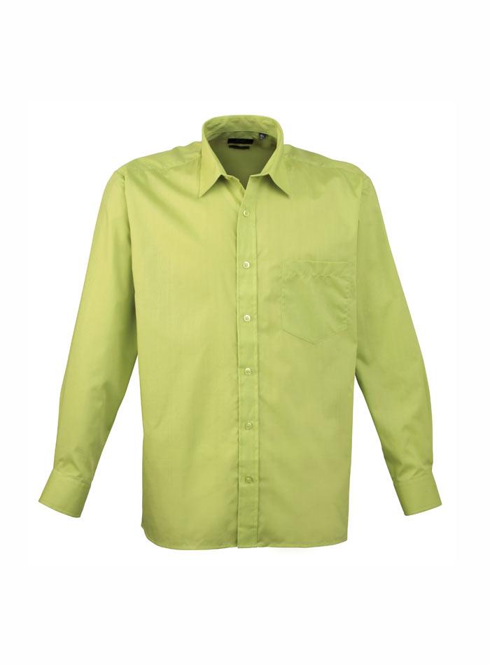 Pánská košile Premier - Limetková 38