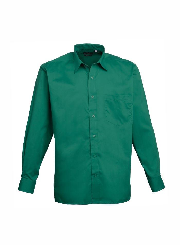 Pánská košile Premier - smaragdová 38